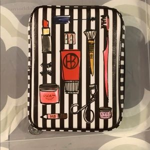 Henri Bendel make up brush case / toiletries bag